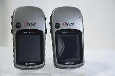 Pour pièces uniquement 2x GARMIN ETREX VISTA HCX Portable GPS Altimètre Randonnée Voile