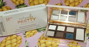 IT Cosmetics Naturally Pretty Matte Luxe TRANSFORMING Eyeshadow Palette 7 Colors