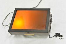 "Kodak Darkroom Safelight Lamp Model D Utility 10"" X 12"" with 0C Filter"