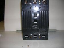 GENERAL ELECTRIC TQD32225 USED GE BREAKER 225 AMP 3 POLE 240V 10ka rating MAIN