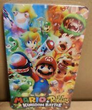 Mario & Rabbids Kingdom Battle - Steelbook - Custom - new - Switch -no game