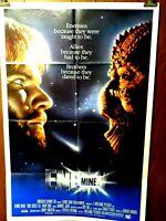 Enemy Mine Dennis Quaid L Gossett Jr. 1985 20th Century Fox One Sheet Poster