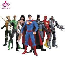 """7x DC Justice League Superman Batman Wonder Woman Action Figure Toy Kid Gift 7"""""""