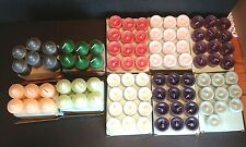 94 Partylite Candles Assorted Lot ~ Mixed Scents Votives & Tealights Rare * New