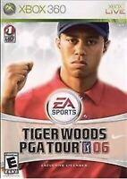 Tiger Woods PGA Tour 06 Xbox 360 Game Kids Golfing Golf Collectible 2006