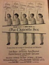 The Opposite Sex, Ann Sheridan, Ann Miller, Full Page Vintage Promotional Ad