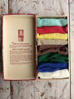 Vintage Southern Style Killinger Hi-Jacs Coaster 8 Colors Cotton Slip On Glass