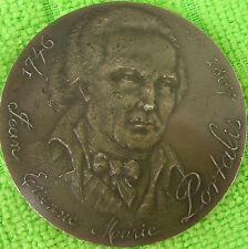JEAN ETIENNE PORTALIS -médaille signé santucci - MÉDAILLE EN  ARGENT
