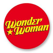 Pin Button Badge Ø38mm Wonder Woman Comics Super Heros