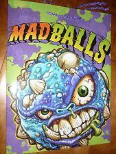 Amtoy Mad Balls Gift Bag 2007 Shows:Repvile & Bash Brain,American Greetings