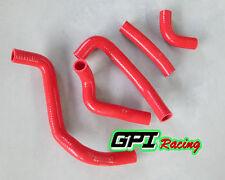 Kawasaki KDX220 KDX200 1995-2006 95 96 97 98 99 00-06 silicone radiator hose RED