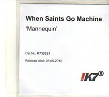 (DT621) When Saints Go Machine, Mannequin - 2012 DJ CD