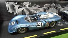 LOLA SPYDER T70 PARNELLI JONES # 21 de 1967 au 1/18 GMP 12006P voiture miniature