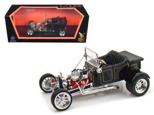 1923 FORD T-BUCKET SOFT TOP BLACK 1/18 DIECAST CAR BY ROAD SIGNATURE  92829