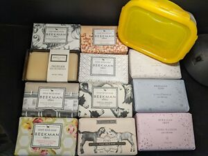 Beekman 1802 9 oz Huge Size Soap Lock & Lock Container Gift Box You Pick Scent