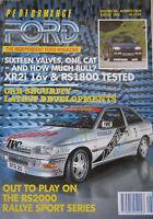 Performance Ford magazine 08/1992 Vol.6, No.4