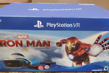 Sony PlayStation VR Marvel Iron Man Virtual Reality Headset Bundle PS4/PS5 Open