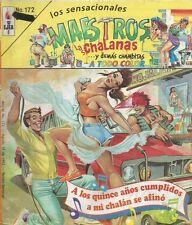 SENSACIONALES MAESTROS MEXICAN COMIC #172 SPICY MEXICO SPANISH HISTORIETA 1992