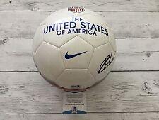Christian Pulisic Signed NIKE Team USA U.S.A Soccer Ball Beckett BAS COA a