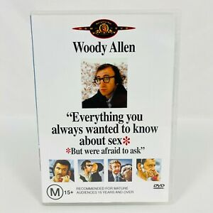 Everything You Always Wanted to Know About Sex (DVD, 1972) Woody Allen Region 4