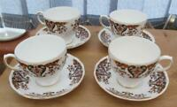 Colclough Royale Cups & Saucers Set of 4     £19.99 (Post Free UK)