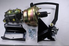 """47-54 Chevy Truck Frame Mount Pedal Power Booster Conversion Kit 7"""" Dual"""