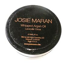 Josie Maran Whipped Argan Oil Lavender Citrus 2oz Read Info