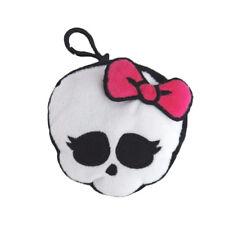 Monster High Skull Shape Skullette Backpack Plush Coin Clip Key Chain Toy Bag