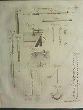 1797 georgiano impresión ~ electricidad ~ diferentes diagramas Equipos