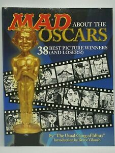 Mad Magazine : Mad About The Oscars - Alfred E Neuman - The Usual Gang of Idiots