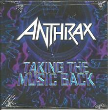 ANTHRAX Safe Home / Taking the Music Back 2 TRX PROMO DVD VIDEO Single SEALED