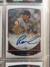 2013 Bowman Draft Chrome Auto Rc Robert Kaminsky St Louis Cardinals