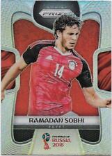2018 Panini FIFA World Cup Silver Prizm (60) Ramadan SOBHI Egypt