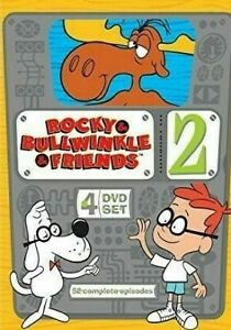 Rocky and Bullwinkle and Friends : Series Season 2 Two DVD (4 DISC) Region 1