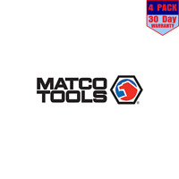 Matco Tools 4 Stickers 4X4 Inch Sticker Decal