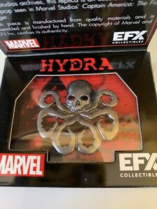 """Captain America The First Avenger """"Hydra Lapel Pin"""" EFXLoot crate"""