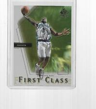 2000-2001 UPPER DECK SP AUTHENTIC BASKETBALL FIRST CLASS BARON DAVIS #FC3