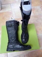 PATAUGAS 37 bottes de cuir noir en très bon état.
