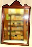 Antique Mahogany Federal Style Mirror, Dresser or Wall