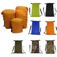 Waterproof Compression Stuff Sack Outdoor Camping Sleeping Bag Storage Bags US