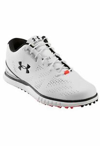 Under Armour Glide Spikeless Golf Shoe - White - Waterproof - RRP £99