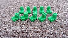 10 x JEEP In Plastica Bussola Dado per Viti-PARAURTI ad ala/GRIGLIA FARO ANTERIORE