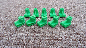 10 x JEEP Plastic Grommet Nut for Screws- Bumper to Wing/Headlight Grille
