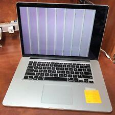 Apple Macbook Pro 15 Retina late 2013 2ghz i7 8gb Ram 256gb SSD - CRACKED LCD