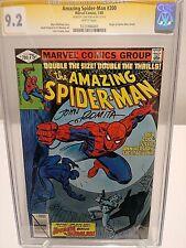 The AMAZING SPIDER-MAN #200 CGC 9.2 Signature Series signed JOHN ROMITA Sr.