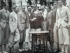 Photo Of First US Ryder Cup Team, 1927