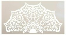 Mandala - India - Half Design Stencil by StudioR12 | Reusable Mylar Template...
