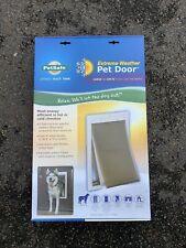 Petsafe Extreme Weather Pet Door PPA00-10986 Large 1-100lb New!!!