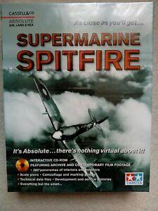 Absolute Supermarine Spitfire Windows Interactive CD-ROM 2001new sealed big box