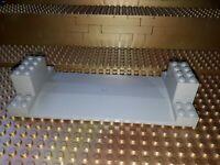 Lego City Bauplatte 30399 Set 6600 Highway Construction Grau Grundplatte